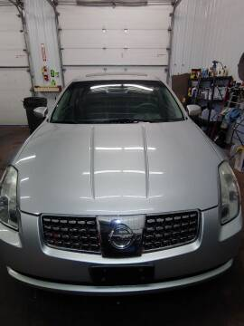2006 Nissan Maxima for sale at WB Auto Sales LLC in Barnum MN