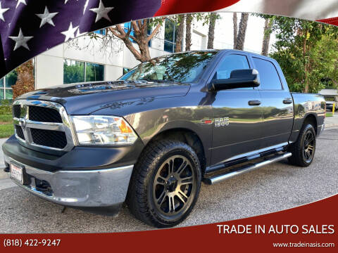 2016 RAM Ram Pickup 1500 for sale at Trade In Auto Sales in Van Nuys CA
