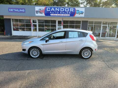 2014 Ford Fiesta for sale at CANDOR INC in Toms River NJ