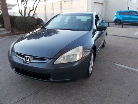 2004 Honda Accord for sale at ACH AutoHaus in Dallas TX