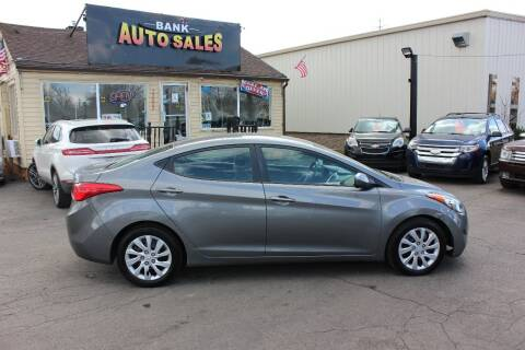 2012 Hyundai Elantra for sale at BANK AUTO SALES in Wayne MI
