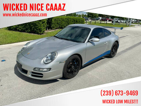 2005 Porsche 911 for sale at WICKED NICE CAAAZ in Cape Coral FL