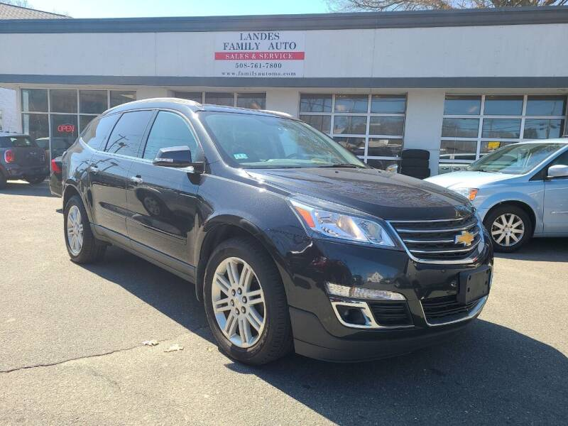 2013 Chevrolet Traverse for sale at Landes Family Auto Sales in Attleboro MA