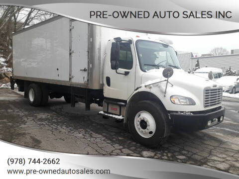 2014 Freightliner M2 106 for sale at Pre-Owned Auto Sales Inc in Salem MA