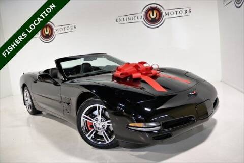 2004 Chevrolet Corvette for sale at Unlimited Motors in Fishers IN