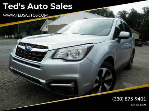 2018 Subaru Forester for sale at Ted's Auto Sales in Louisville OH