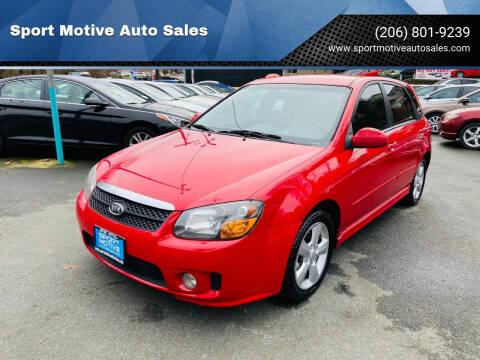 2008 Kia Spectra for sale at Sport Motive Auto Sales in Seattle WA