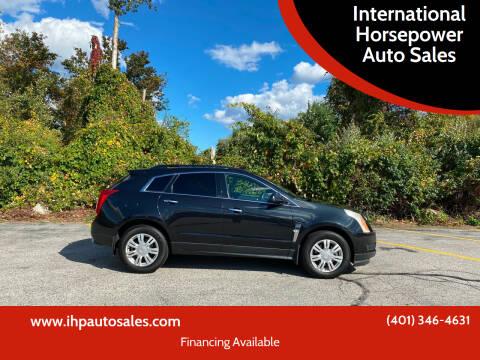 2012 Cadillac SRX for sale at International Horsepower Auto Sales in Warwick RI