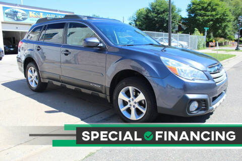 2014 Subaru Outback for sale at K & L Auto Sales in Saint Paul MN