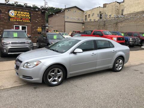 2009 Chevrolet Malibu for sale at STEEL TOWN PRE OWNED AUTO SALES in Weirton WV