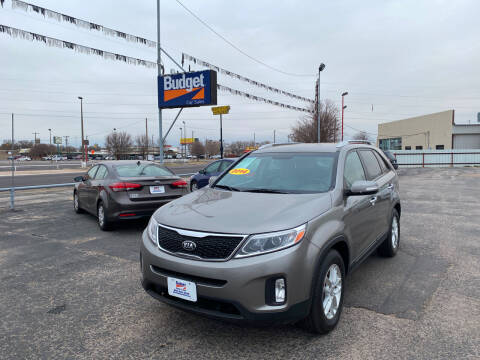 2014 Kia Sorento for sale at BUDGET CAR SALES in Amarillo TX