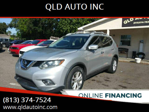 2015 Nissan Rogue for sale at QLD AUTO INC in Tampa FL