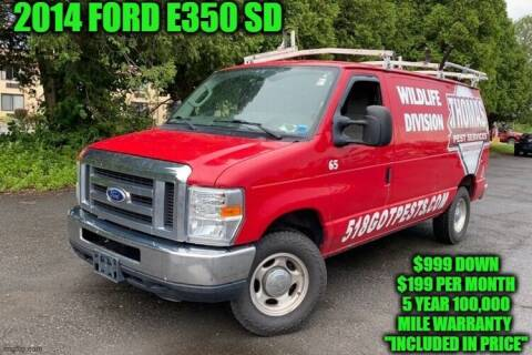2014 Ford E-Series Cargo for sale at D&D Auto Sales, LLC in Rowley MA