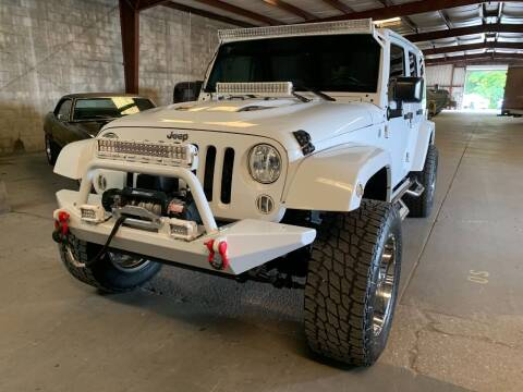 2015 Jeep Wrangler Unlimited for sale at American Classic Car Sales in Sarasota FL