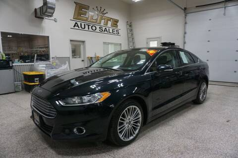 2014 Ford Fusion for sale at Elite Auto Sales in Ammon ID