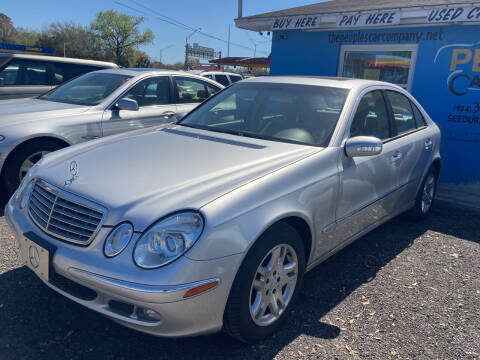 2005 Mercedes-Benz E-Class for sale at The Peoples Car Company in Jacksonville FL
