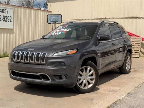 2016 Jeep Cherokee for sale at Auto Bankruptcy Loans in Chickasha OK