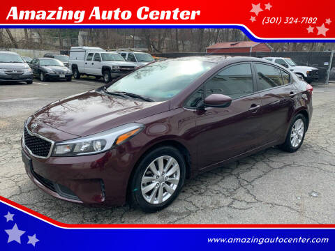 2017 Kia Forte for sale at Amazing Auto Center in Capitol Heights MD