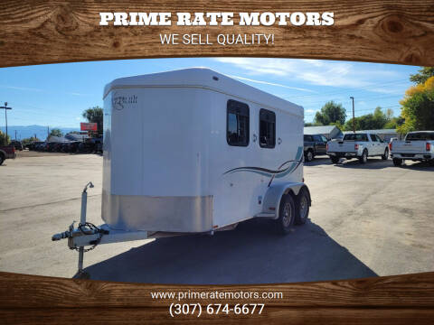 2000 Kiefer 2 Horse Slant Combo for sale at PRIME RATE MOTORS in Sheridan WY