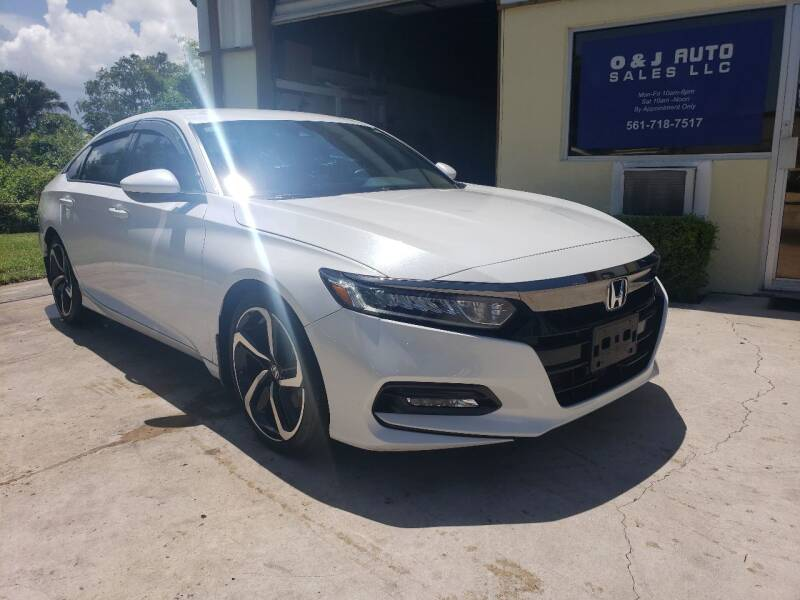 2018 Honda Accord for sale at O & J Auto Sales in Royal Palm Beach FL