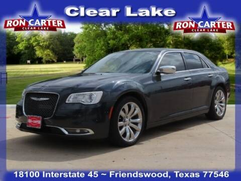 2018 Chrysler 300 for sale at Ron Carter  Clear Lake Used Cars in Houston TX