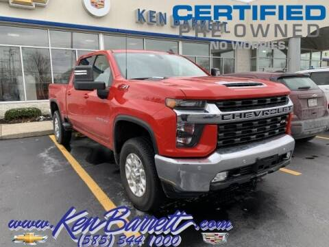 2021 Chevrolet Silverado 2500HD for sale at KEN BARRETT CHEVROLET CADILLAC in Batavia NY