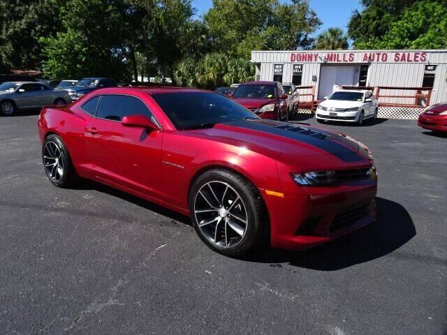 2014 Chevrolet Camaro for sale at DONNY MILLS AUTO SALES in Largo FL