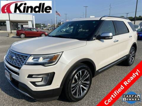 2016 Ford Explorer for sale at Kindle Auto Plaza in Cape May Court House NJ