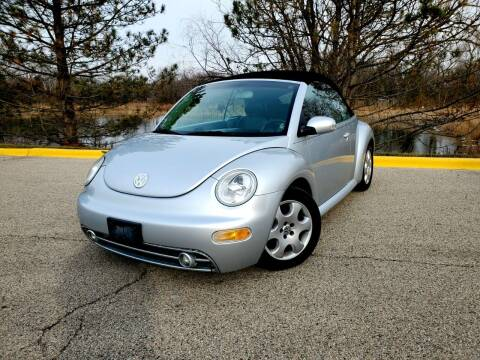 2003 Volkswagen New Beetle Convertible for sale at Excalibur Auto Sales in Palatine IL