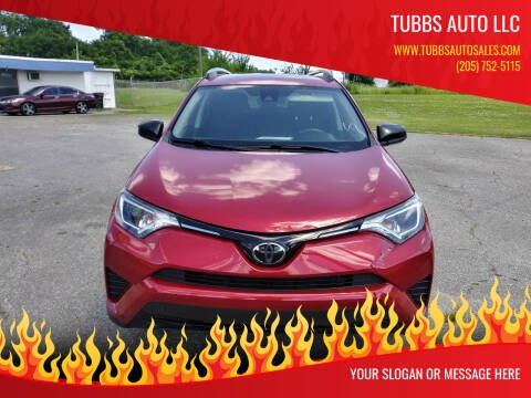 2017 Toyota RAV4 for sale at Tubbs Auto LLC in Tuscaloosa AL