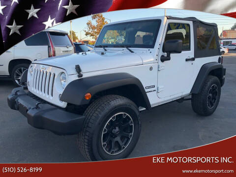 2014 Jeep Wrangler for sale at EKE Motorsports Inc. in El Cerrito CA