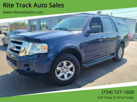 2010 Ford Expedition for sale at Rite Track Auto Sales in Wayne MI