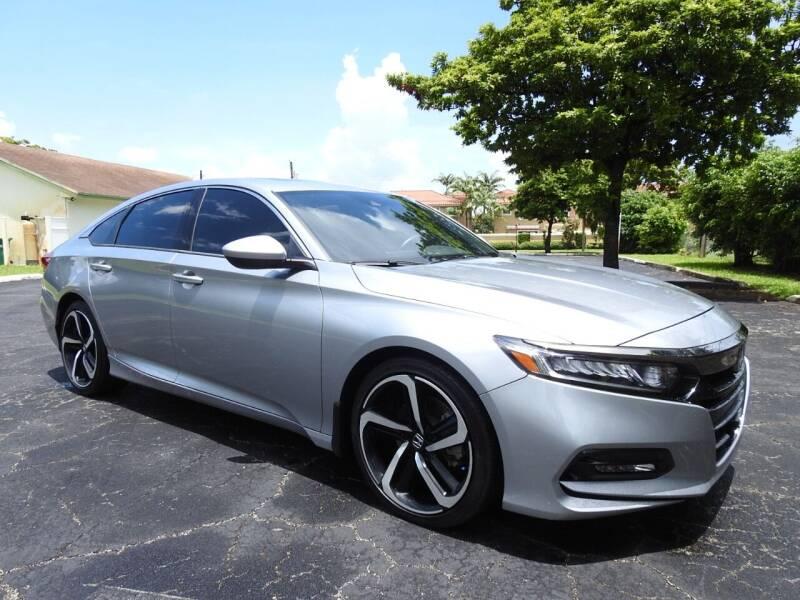 2019 Honda Accord for sale at SUPER DEAL MOTORS 441 in Hollywood FL