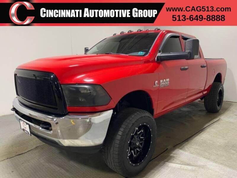 2016 RAM Ram Pickup 2500 for sale at Cincinnati Automotive Group in Lebanon OH