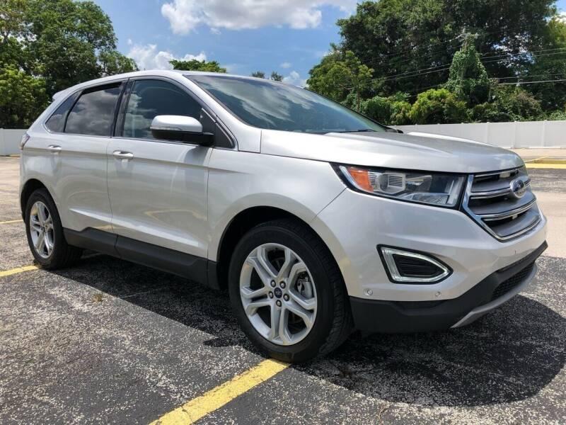 2018 Ford Edge for sale at Guru Auto Sales in Miramar FL