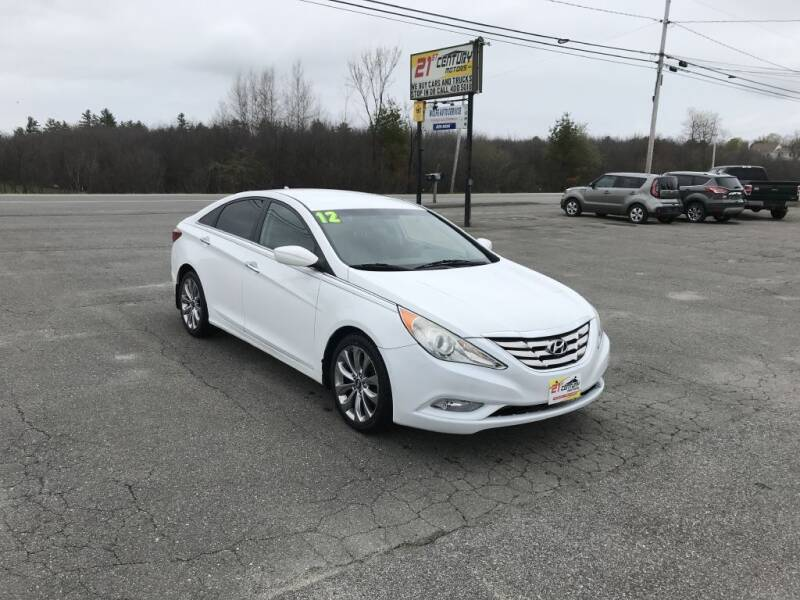2012 Hyundai Sonata for sale at 21ST CENTURY MOTORS in Gorham ME