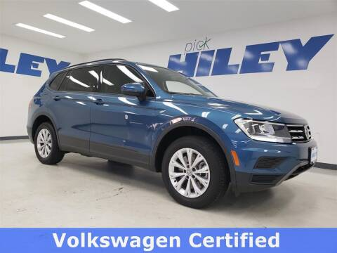 2020 Volkswagen Tiguan for sale at HILEY MAZDA VOLKSWAGEN of ARLINGTON in Arlington TX