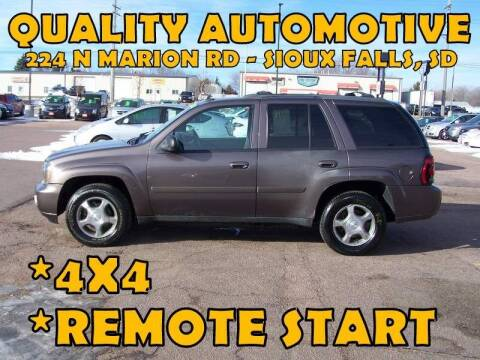 2008 Chevrolet TrailBlazer for sale at Quality Automotive in Sioux Falls SD