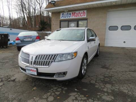 2010 Lincoln MKZ for sale at Auto Match in Waterbury CT
