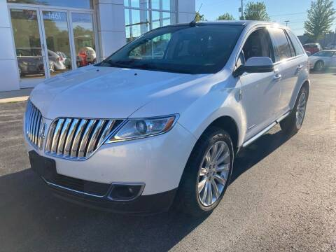 2012 Lincoln MKX for sale at RABIDEAU'S AUTO MART in Green Bay WI