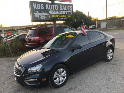 2015 Chevrolet Cruze for sale at KBS Auto Sales in Cincinnati OH