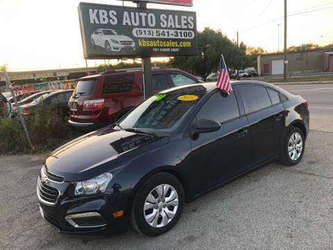 2015 Chevrolet Cruze for sale at KBS Auto Sales in Cincinnati OH