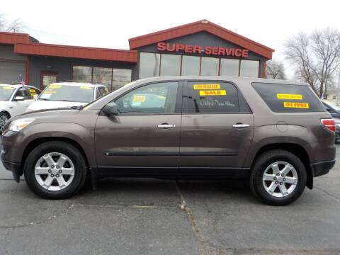 2009 Saturn Outlook for sale at Super Service Used Cars in Milwaukee WI