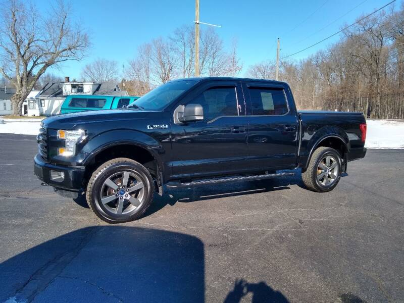 2016 Ford F-150 for sale at Depue Auto Sales Inc in Paw Paw MI