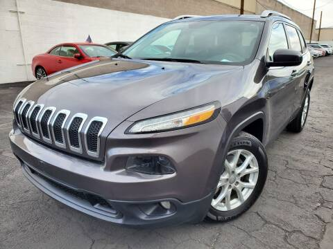 2017 Jeep Cherokee for sale at Auto Center Of Las Vegas in Las Vegas NV