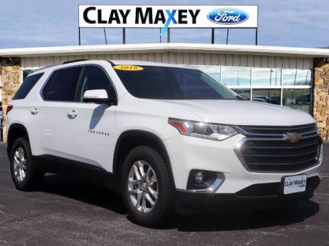 2018 Chevrolet Traverse for sale at Clay Maxey Ford of Harrison in Harrison AR