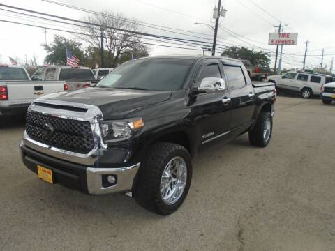 2018 Toyota Tundra for sale at BAS MOTORS in Houston TX