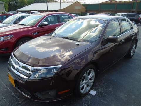2012 Ford Fusion for sale at River City Auto Sales in Cottage Hills IL