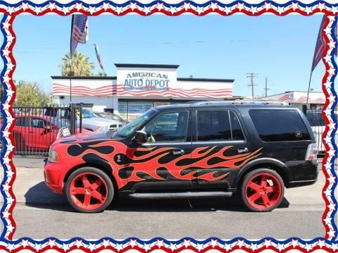 2003 Lincoln Navigator for sale at American Auto Depot in Modesto CA