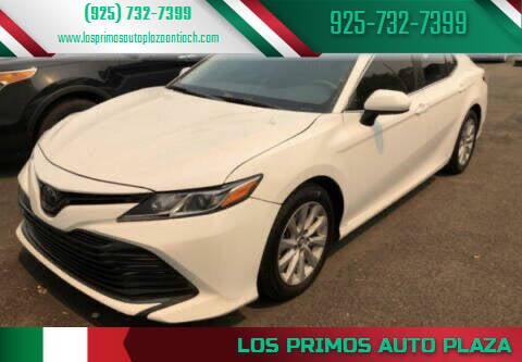 2018 Toyota Camry for sale at Los Primos Auto Plaza in Antioch CA